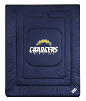 San Diego Chargers Jersey Comforter