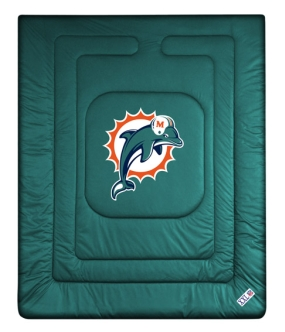 Miami Dolphins Jersey Comforter