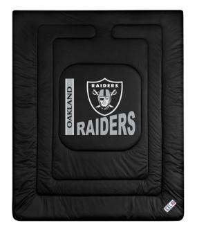 Oakland Raiders Jersey Comforter