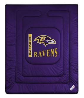 Baltimore Ravens Jersey Comforter
