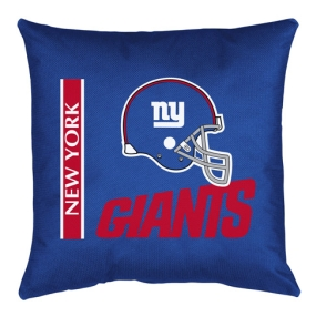 New York Giants Toss Pillow