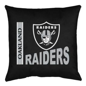 Oakland Raiders Toss Pillow