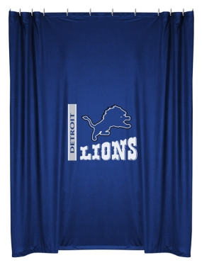 Detroit Lions Shower Curtain