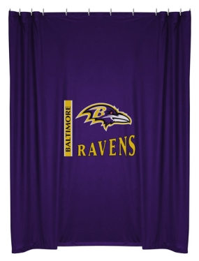 Baltimore Ravens Shower Curtain