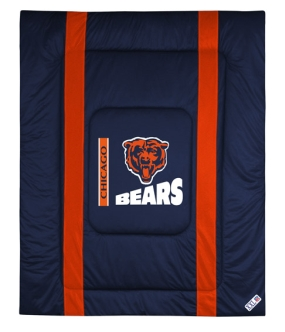 Chicago Bears Sidelines Comforter