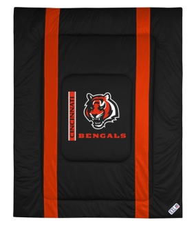 Cincinnati Bengals Sidelines Comforter