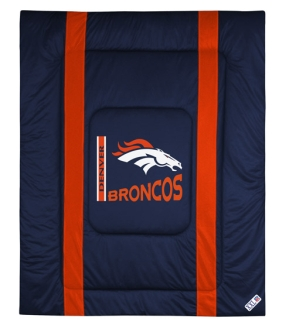 Denver Broncos Sidelines Comforter