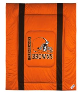 Cleveland Browns Sidelines Comforter