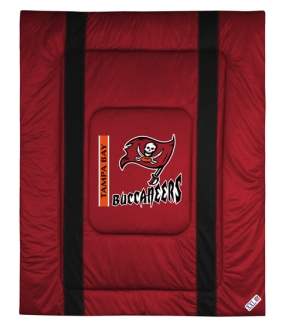 Tampa Bay Buccaneers Sidelines Comforter