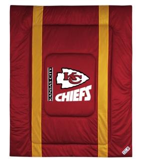 Kansas City Chiefs Sidelines Comforter