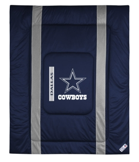 Dallas Cowboys Sidelines Comforter
