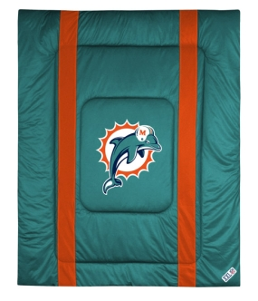 Miami Dolphins Sidelines Comforter