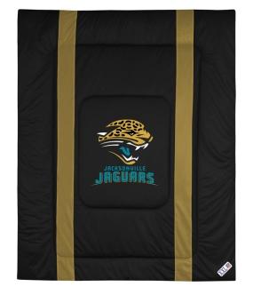 Jacksonville Jaguars Sidelines Comforter