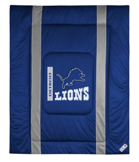 Detroit Lions Sidelines Comforter