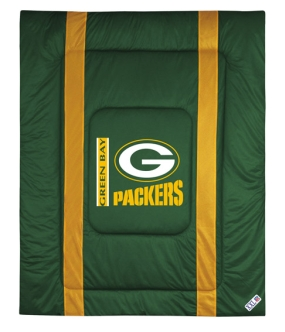 Green Bay Packers Sidelines Comforter