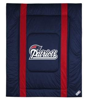 New England Patriots Sidelines Comforter
