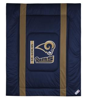 Saint Louis Rams Sidelines Comforter