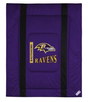 Baltimore Ravens Sidelines Comforter