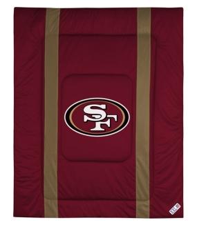 San Francisco 49ers Sidelines Comforter