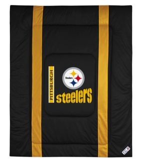 Pittsburgh Steelers Sidelines Comforter
