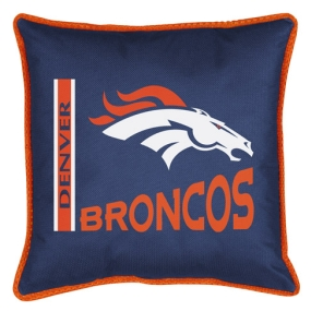 Denver Broncos Toss Pillow