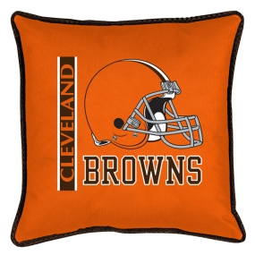 Cleveland Browns Toss Pillow