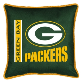 Green Bay Packers Toss Pillow