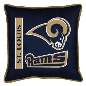 Saint Louis Rams Toss Pillow