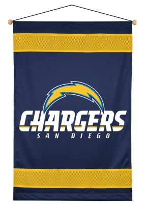 San Diego Chargers Wall Hanging
