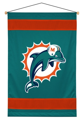 Miami Dolphins Wall Hanging