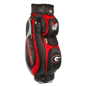 Georgia Bulldogs Letterman's Club II Cooler Cart Golf Bag
