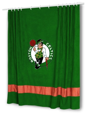 Boston Celtics Shower Curtain