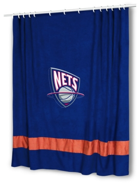 New Jersey Nets Shower Curtain