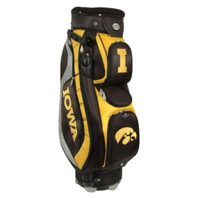 Iowa Hawkeyes Letterman's Club II Cooler Cart Golf Bag