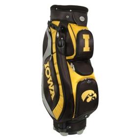 Iowa Hawkeyes Letterman's Club II Cooler Cart Golf Bag