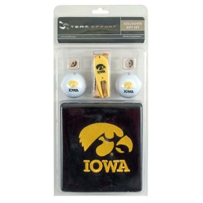 Iowa Hawkeyes Golf Gift Set