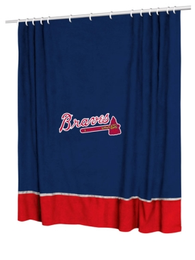 Atlanta Braves Shower Curtain