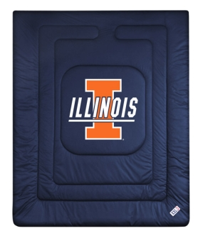 Illinois Fighting Illini Jersey Comforter