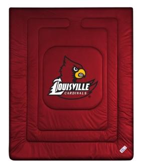 Louisville Cardinals Jersey Comforter