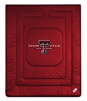 Texas Tech Red Raiders Jersey Comforter