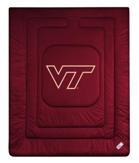 Virginia Tech Hokies Jersey Comforter