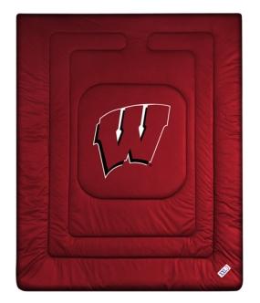 Wisconsin Badgers Jersey Comforter