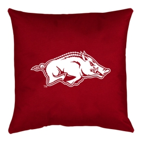 Arkansas Razorbacks Toss Pillow