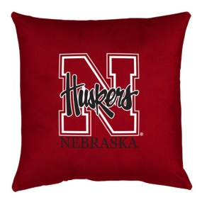 Nebraska Cornhuskers Toss Pillow