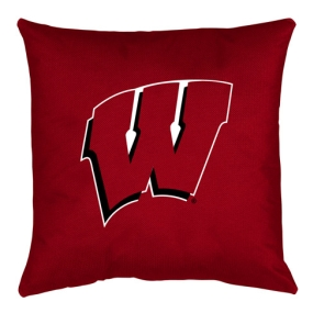 Wisconsin Badgers Toss Pillow