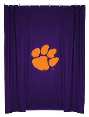 Clemson Tigers Shower Curtain
