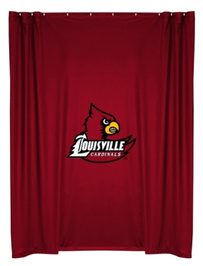Louisville Cardinals Shower Curtain