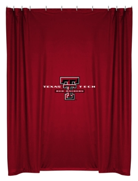 Texas Tech Red Raiders Shower Curtain