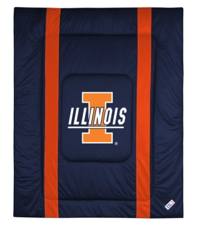 Illinois Fighting Illini Sidelines Comforter