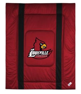 Louisville Cardinals Sidelines Comforter